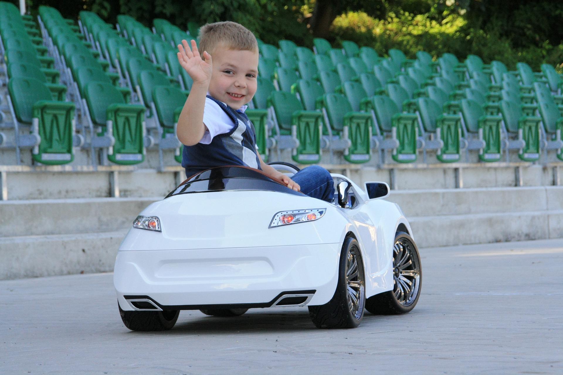 Mode d'emploi des voitures électriques pour enfants de 3 à 6 ans
